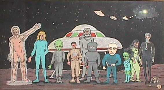Razas Extraterrestres (real u otra invención de su procedencia) (2/6)