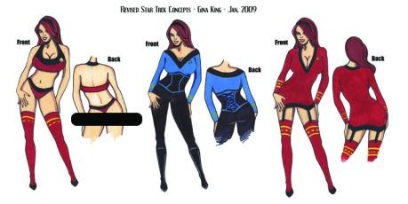 Thinking of Star Trek Ideas for Bianca